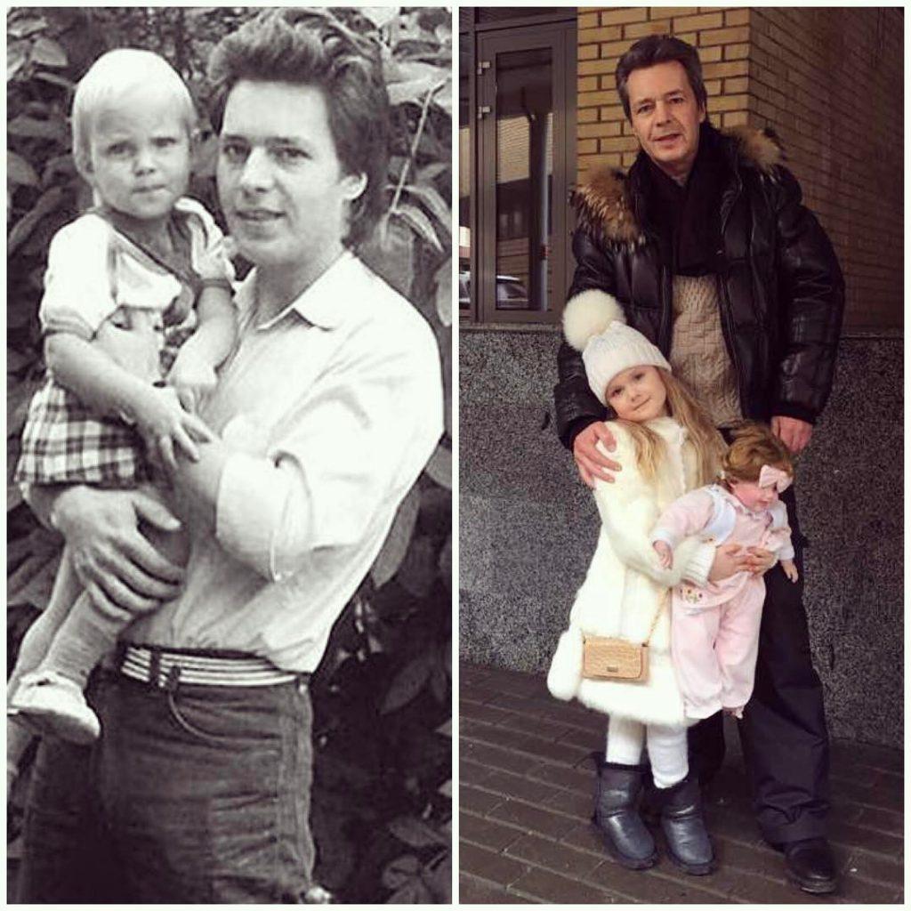 Вот как выглядит отец Натальи Чистяковой-Ионовой - певица поделилась архивным фото