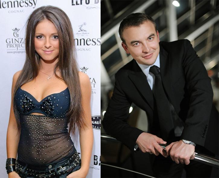 Певица Нюша и Игорь Сивов