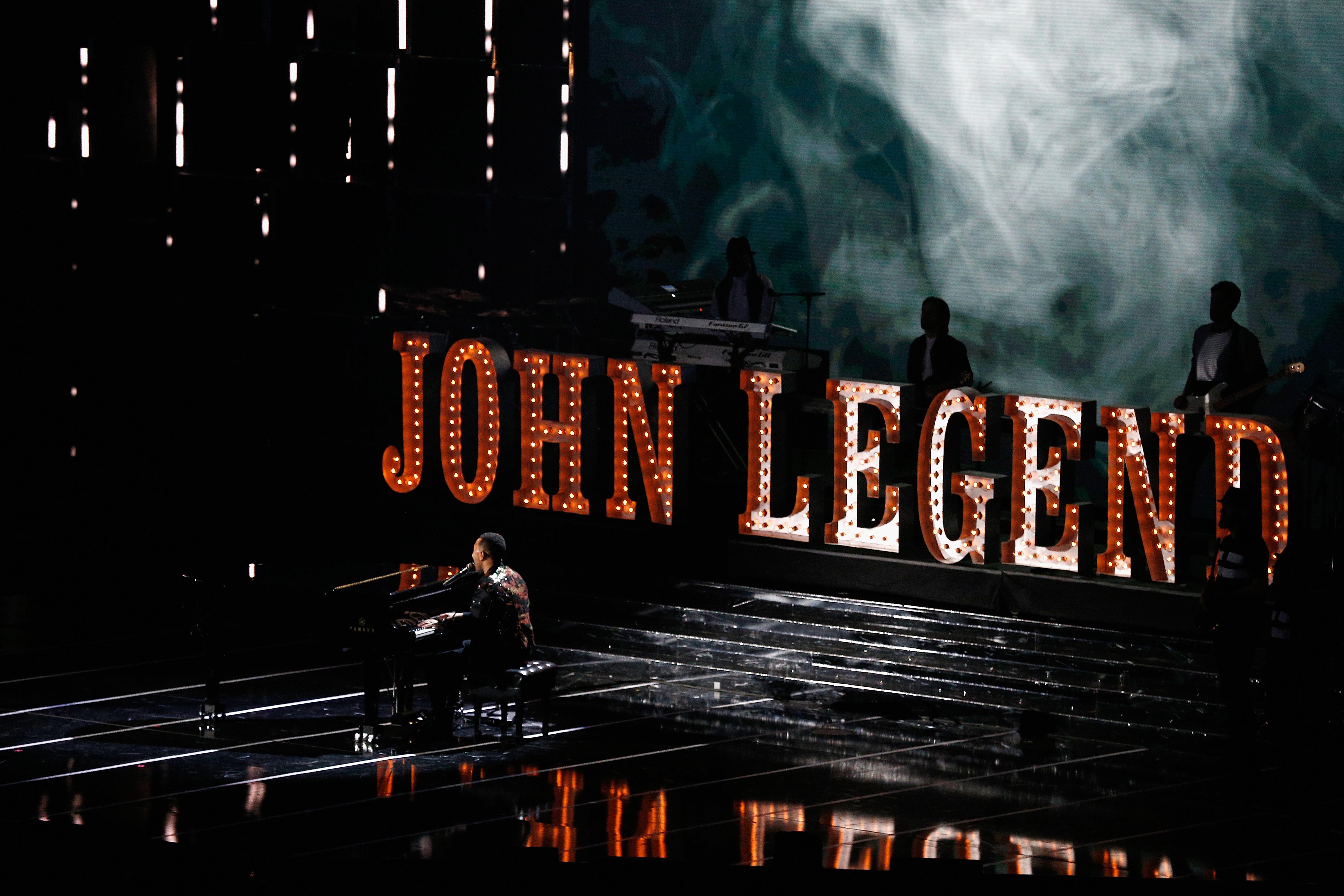 Выступление Джона Ледженда на матче всех звезд NBA-2017