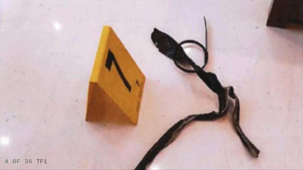 Кадры из места ограбления Ким Кардашьян