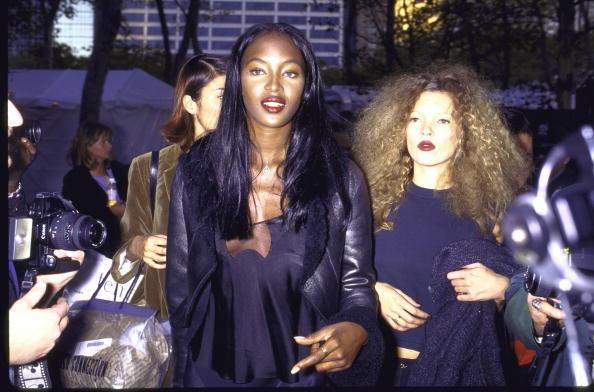 Наоми Кэмпбелл и Кейт Мосс, 1994 год