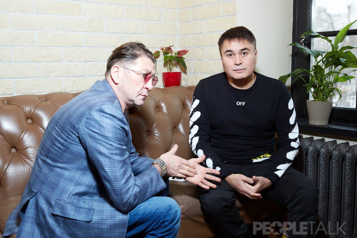 — Григорий Лепс и Арман Давлетяров