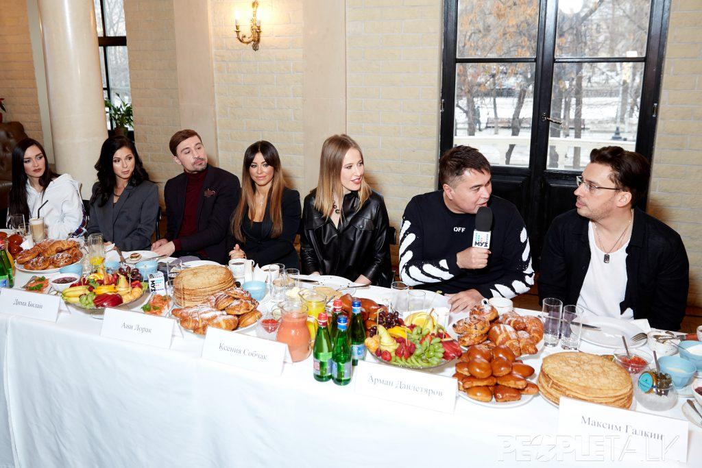 Пресс-завтрак премии «Муз-ТВ»