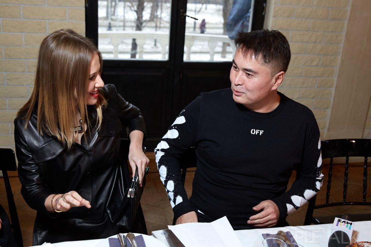 — Ксения Собчак и Арман Давлетяров