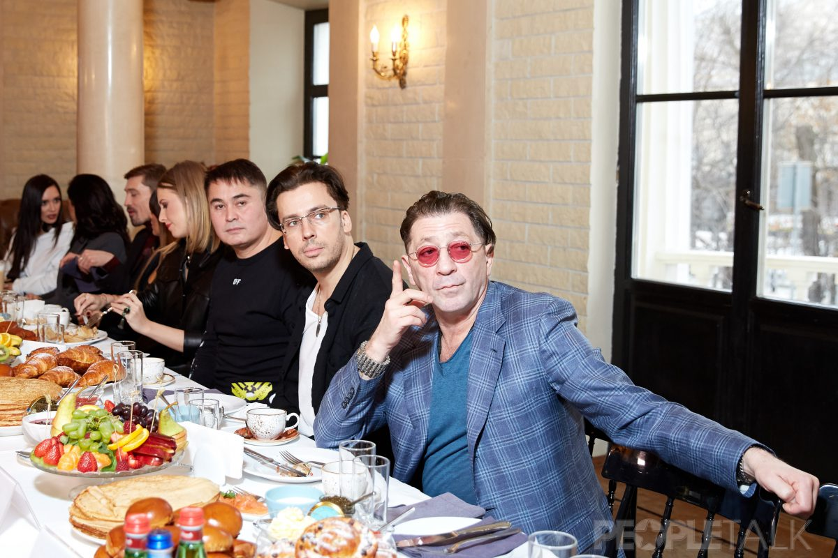 — Арман Давлетяров, Максим Галкин и Григорий Лепс