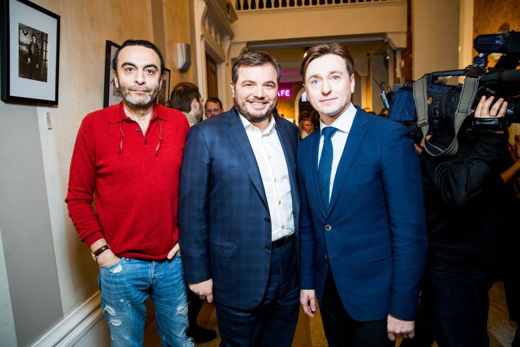 Джаник Файзиев, Тимур Вайнштейн и Сергей Безруков