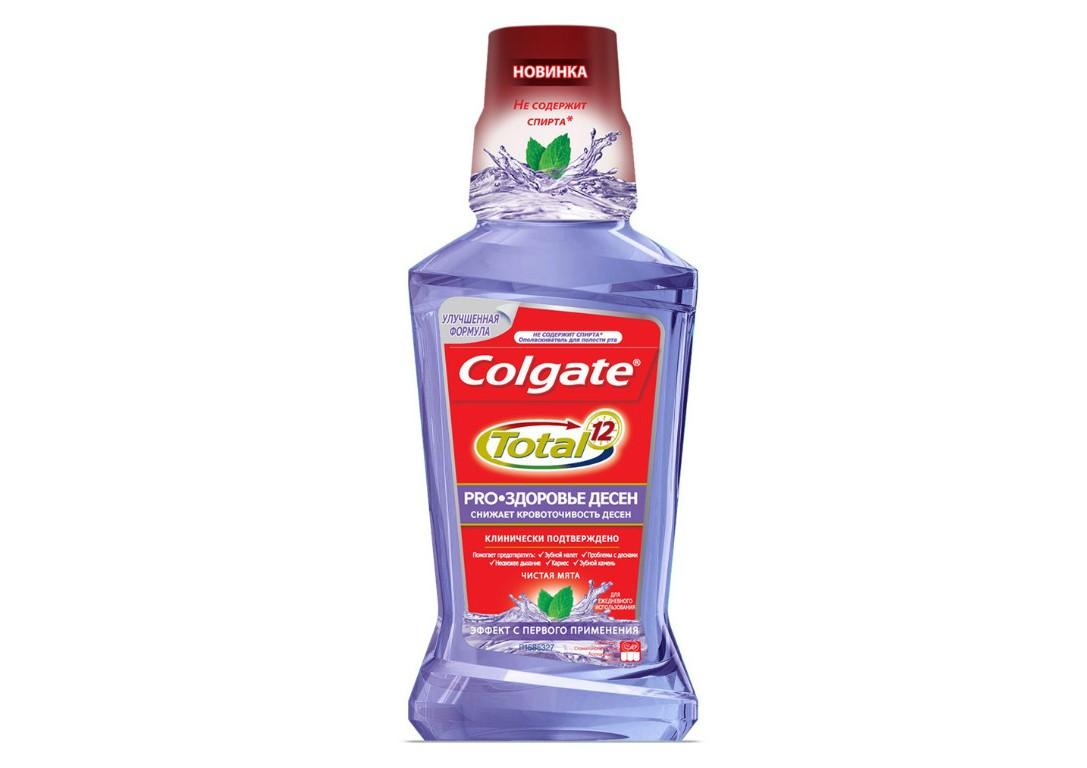 Ополаскиватель для полости рта Colgate Total Pro, «Здоровье Десен»
