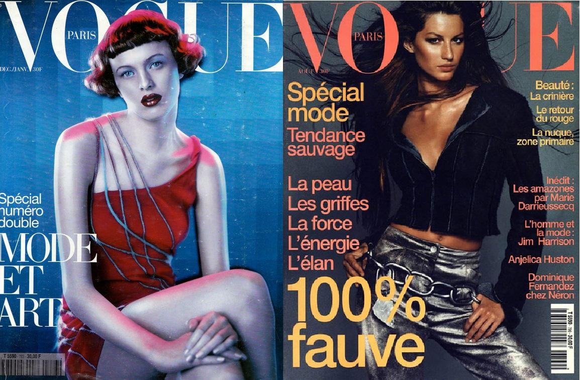 Vogue Франция, 1997; Vоgue Франция, 1999
