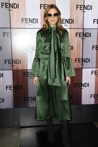 Оливия Палермо на показе Fendi