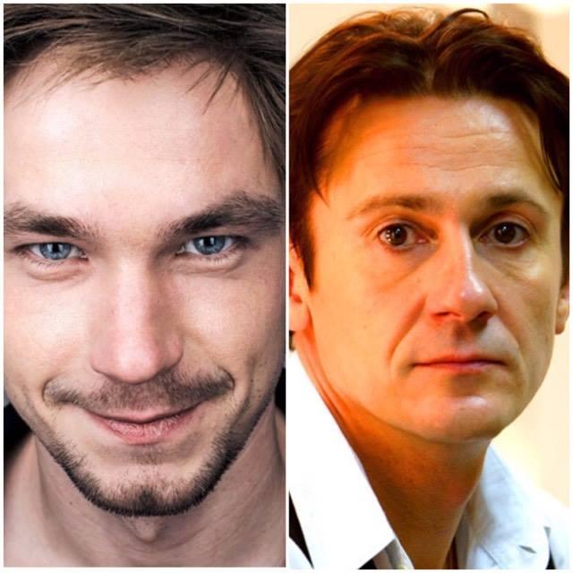Александр Петров и Олег Меньшиков