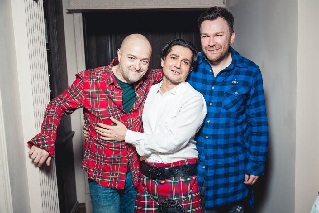 Александр Бичин, Алексей Боков и Григорий Воробьев