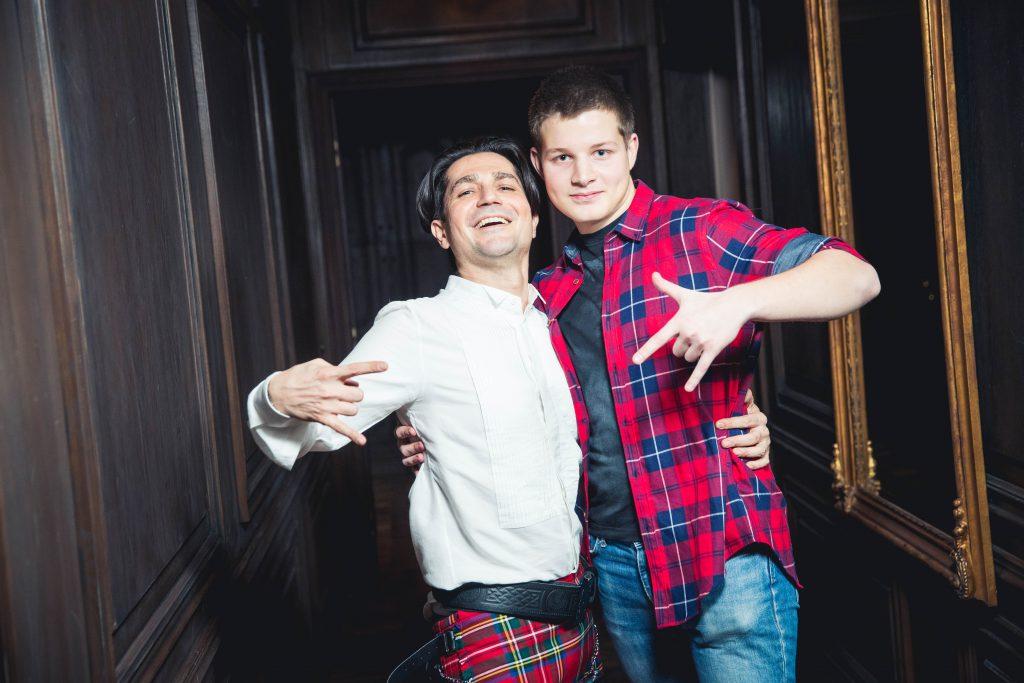 Алексей Боков с сыном Иваном