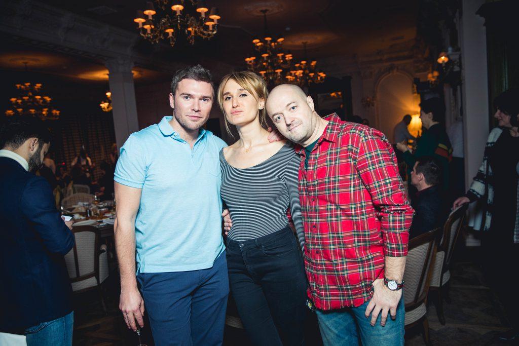Андрей Искорнев, Ольга Рубец и Александр Бичин