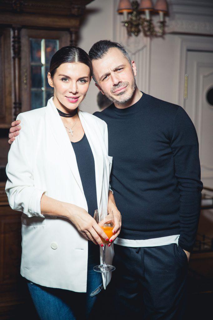 Анна Седокова и Александр Сирадекиан