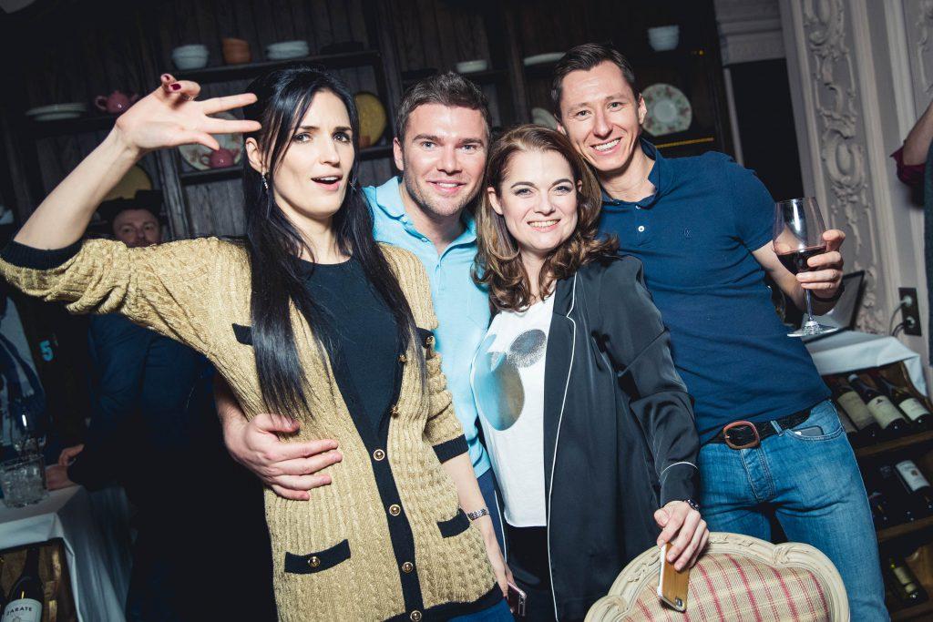 Елена Коровина, Андрей Искорнев, Мария Афанасьева и Олег Ракитов