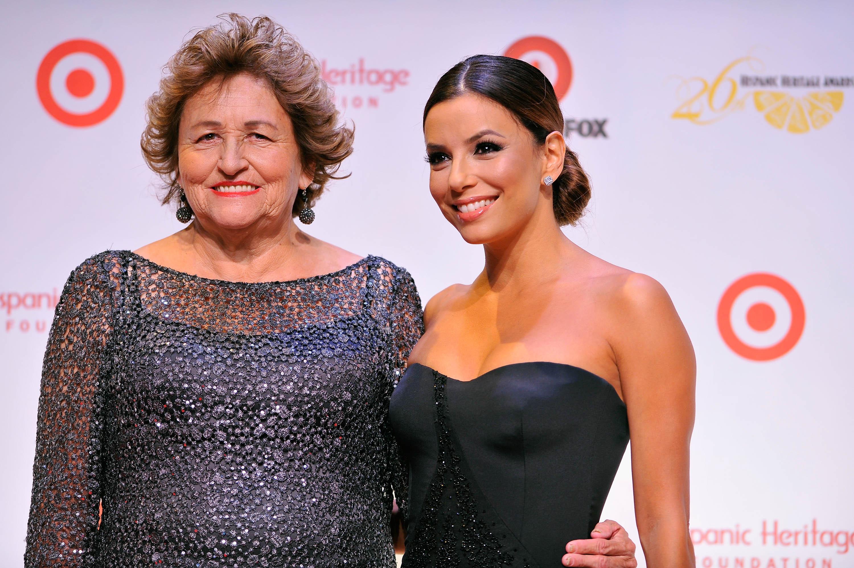 Ева Лонгория вместе с мамой