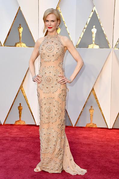 Николь Кидман в платье Armani Prive на «Оскаре» 2017