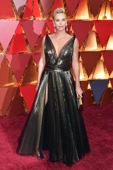 Шарлиз Терон (41) в Christian Dior