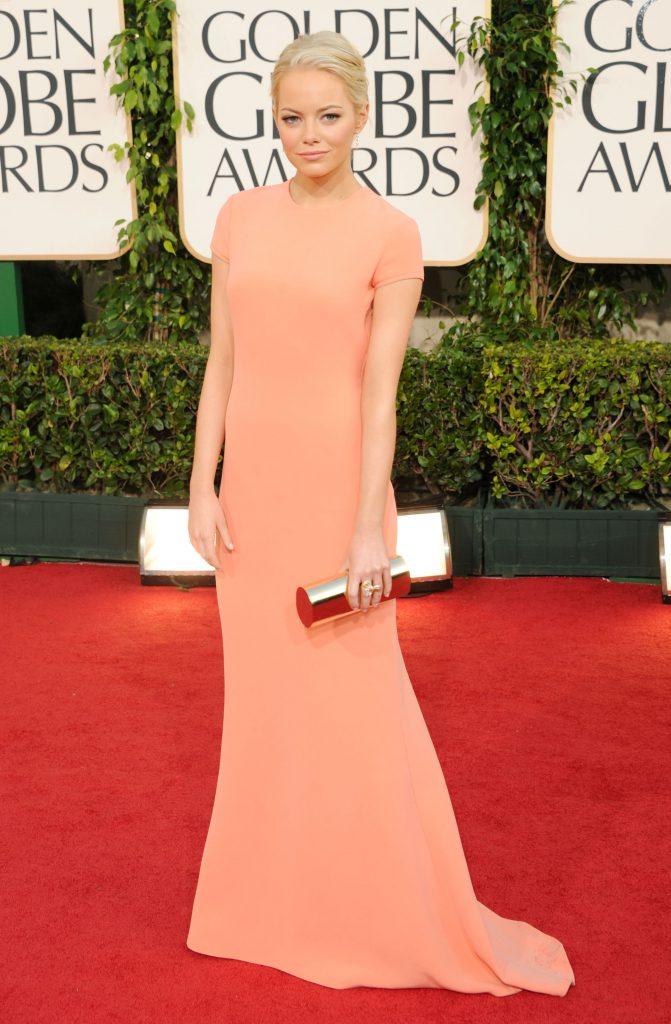 «Золотой Глобус-2011», платье Calvin Klein Collection