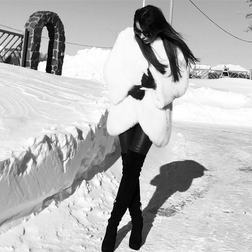 Ани Лорак готовилась к выступлению в Кирове