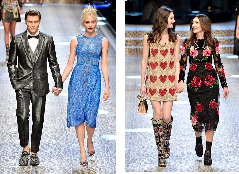 Показ мод в Милане