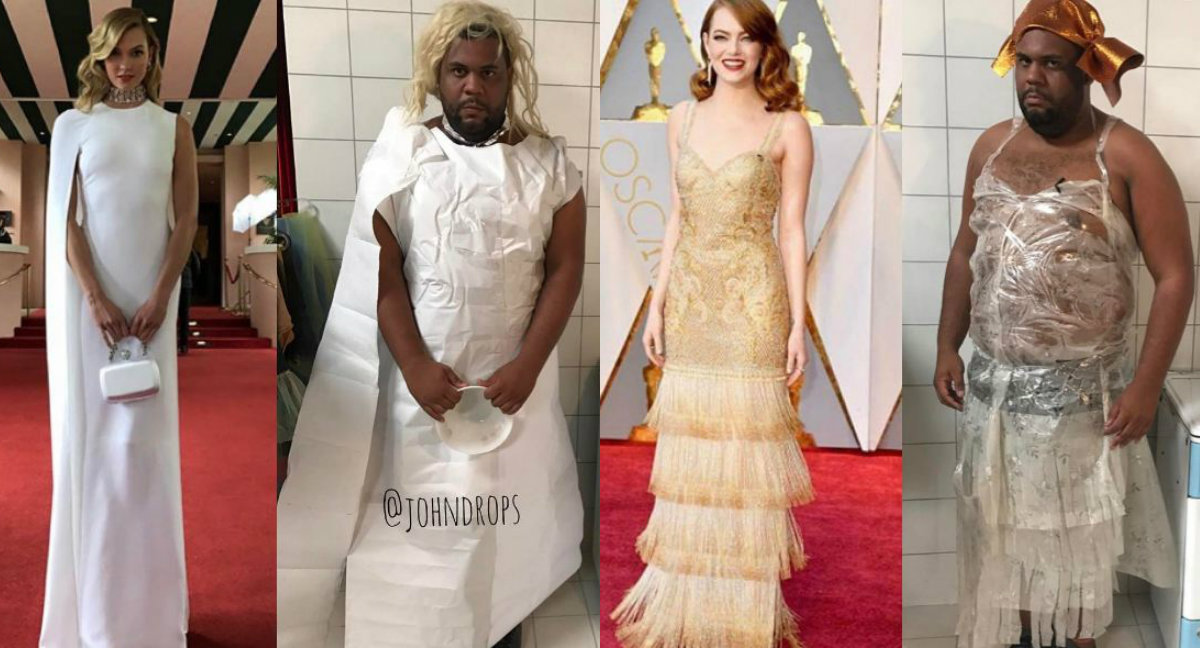 платья Оскар 2017