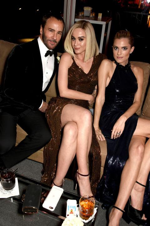 Том Форд, Кэти Перри и Эллисон Уильямс отдыхают на afterparty «Оскара»