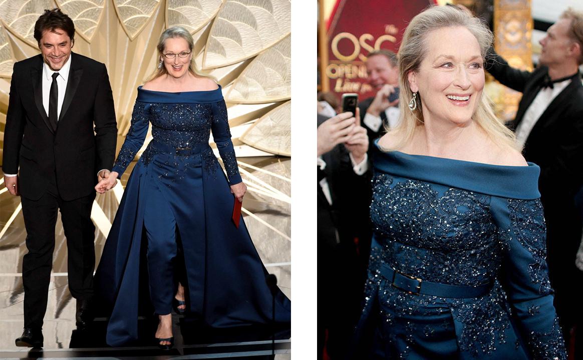 Мерил Стрип на «Оскаре-2017»