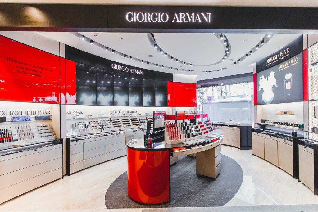 Корнер Giorgio Armani Beauty