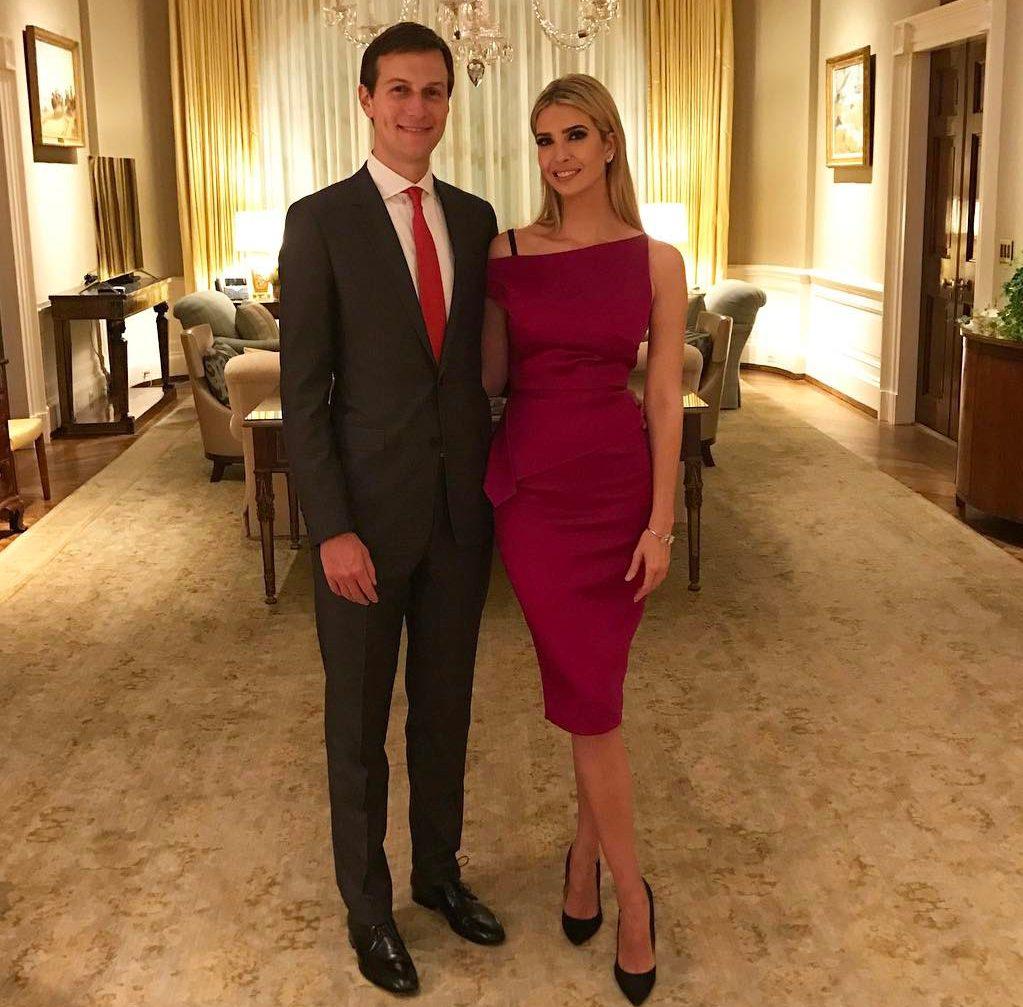 Иванка Трамп с супругом