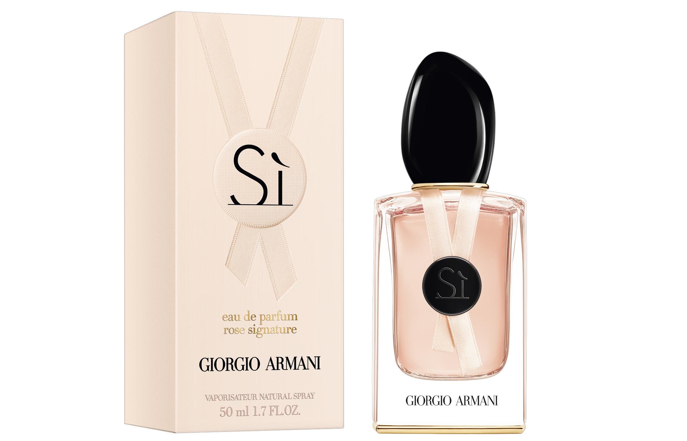 Парфюмерная вода SÌ Rose Signature, Giorgio Armani