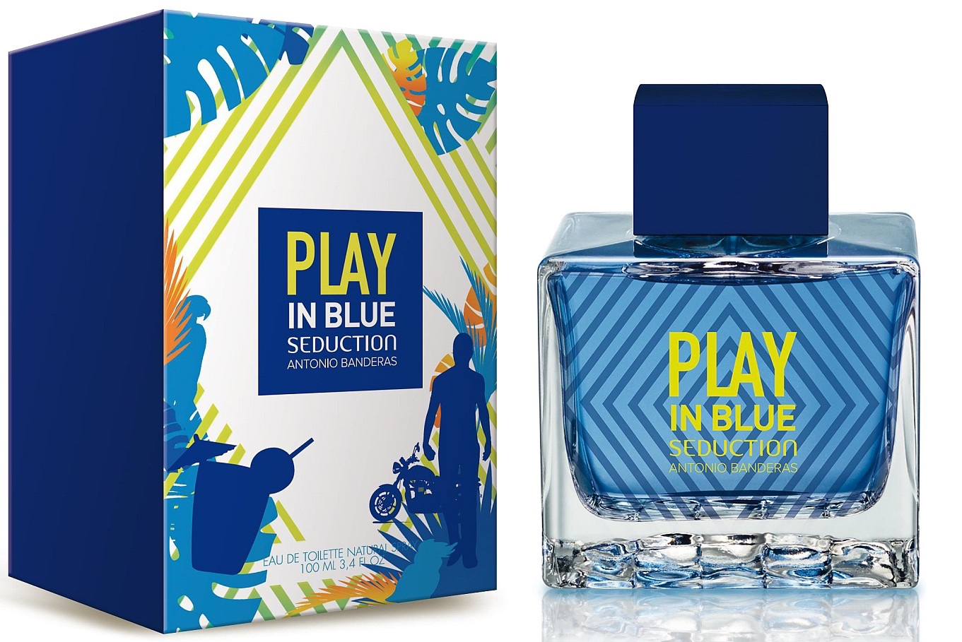 Туалетная вода Play In Blue Seduction, Antonio Banderas