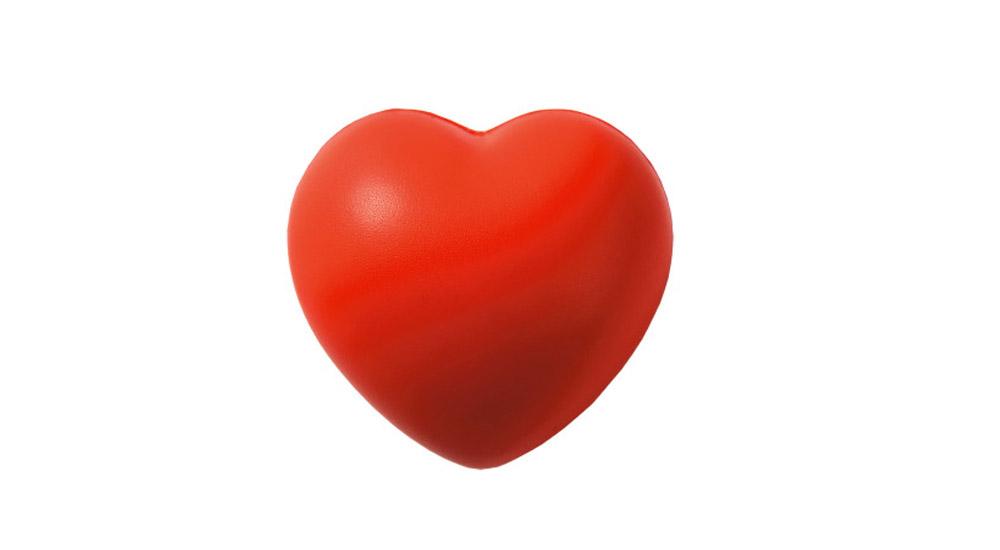 Антистресс в форме сердца, 70 р. (panpodarok.ru)