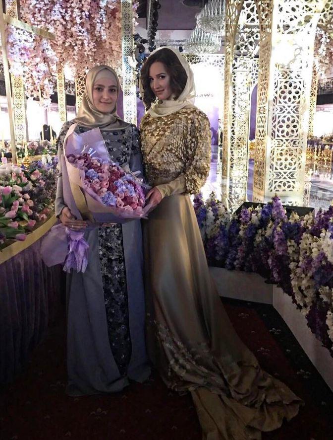 Айшат Кадырова и Ольга Бузова