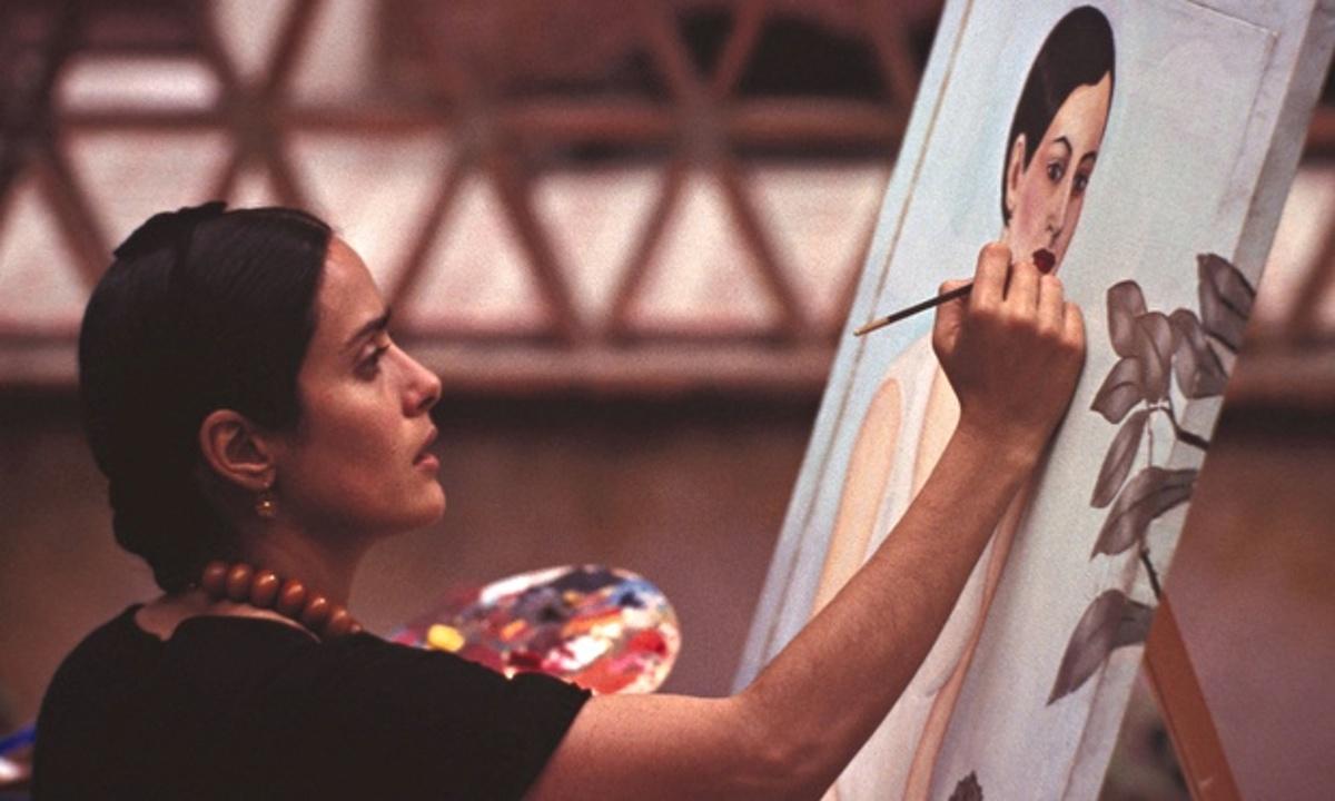 Кадр из фильма «Фрида» (2002)