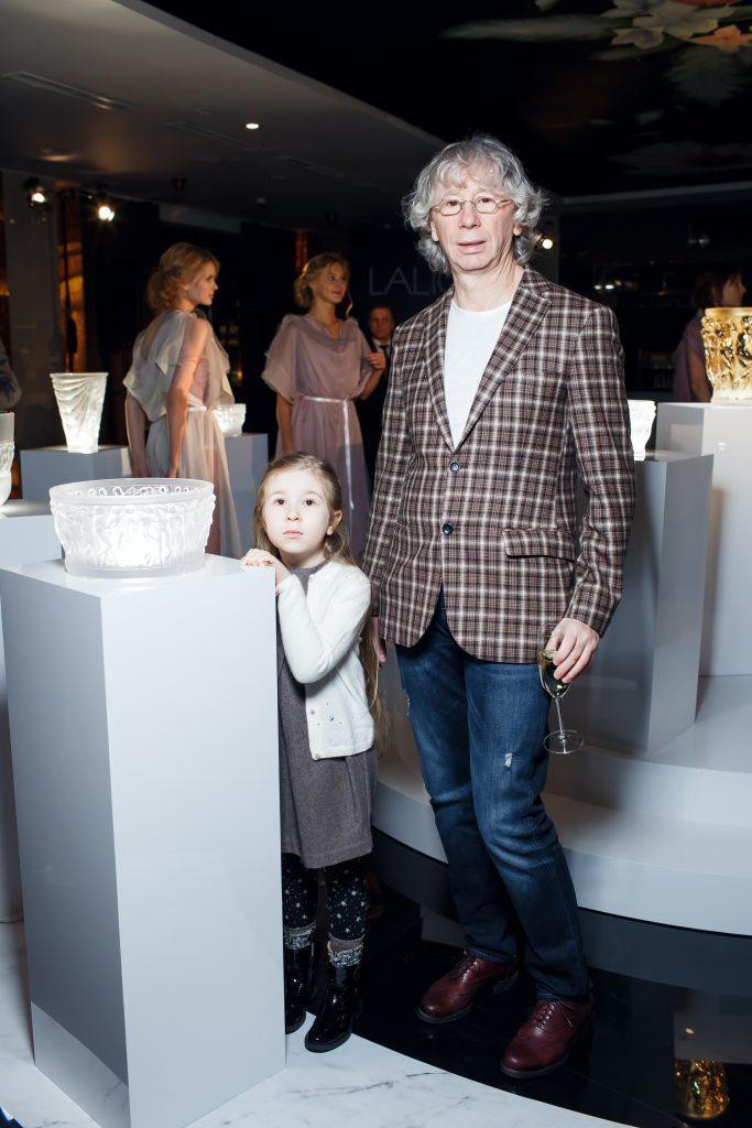 Аркадий Укупник с дочерью
