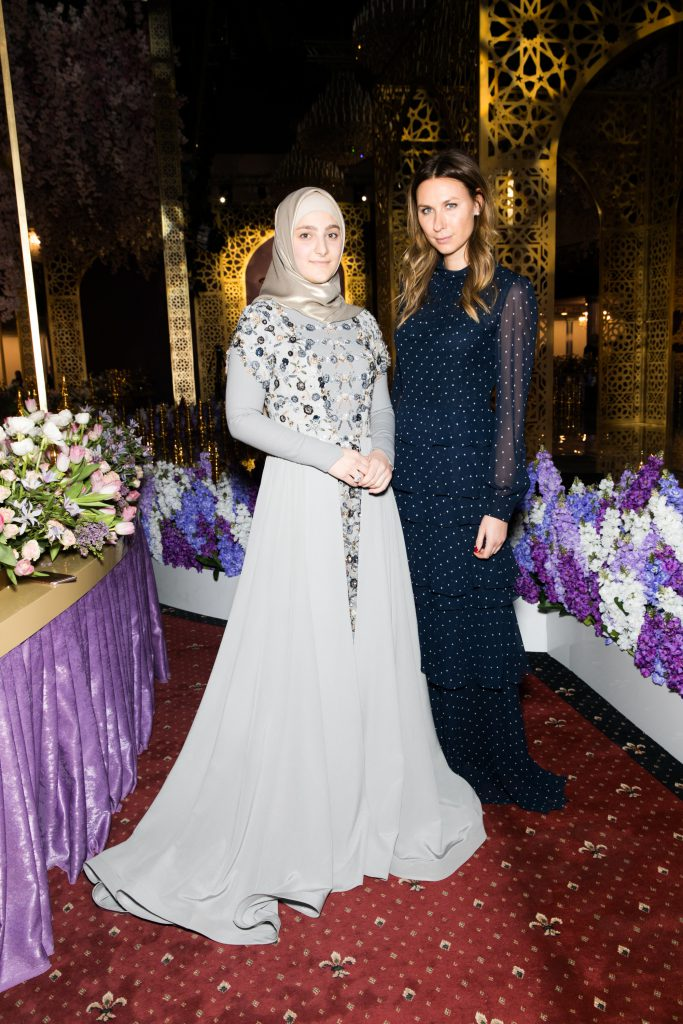 Айшат Кадырова и Дарья Веледеева