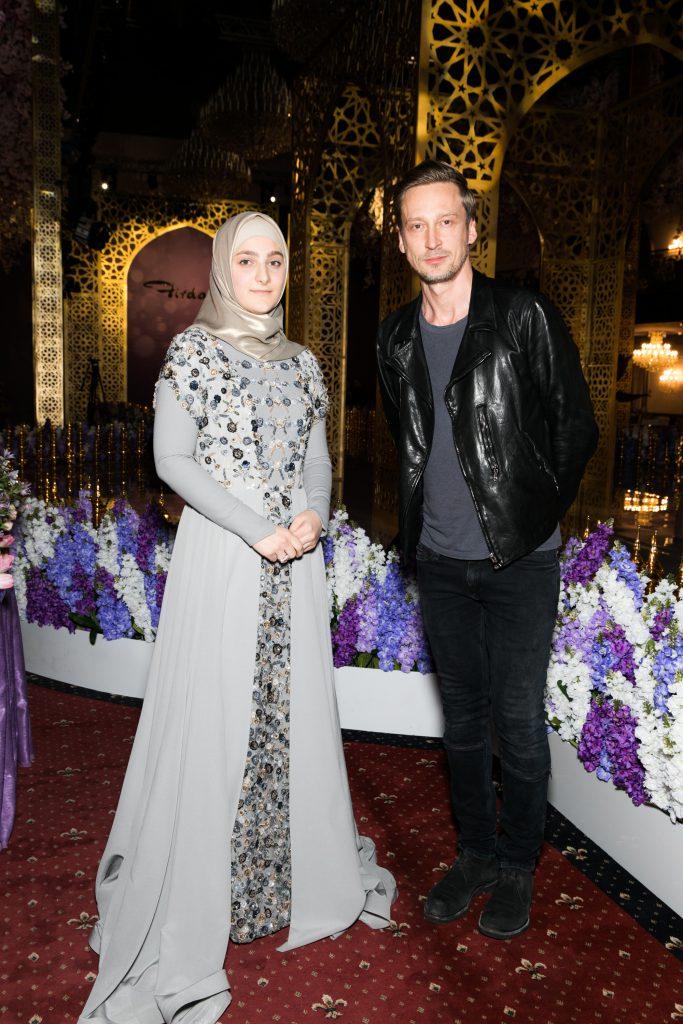 Айшат Кадырова и Вадим Галаганов