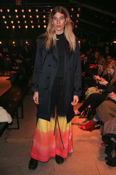 PARIS, FRANCE - MARCH 02:  Veronika Heilbrunner attends the Isabel Marant show as part of the Paris Fashion Week Womenswear Fall/Winter 2017/2018 on March 2, 2017 in Paris, France.  (Photo by Pierre Suu/Getty Images)