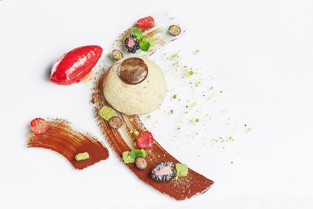 Ягодный десерт из постного теста (780 р.)