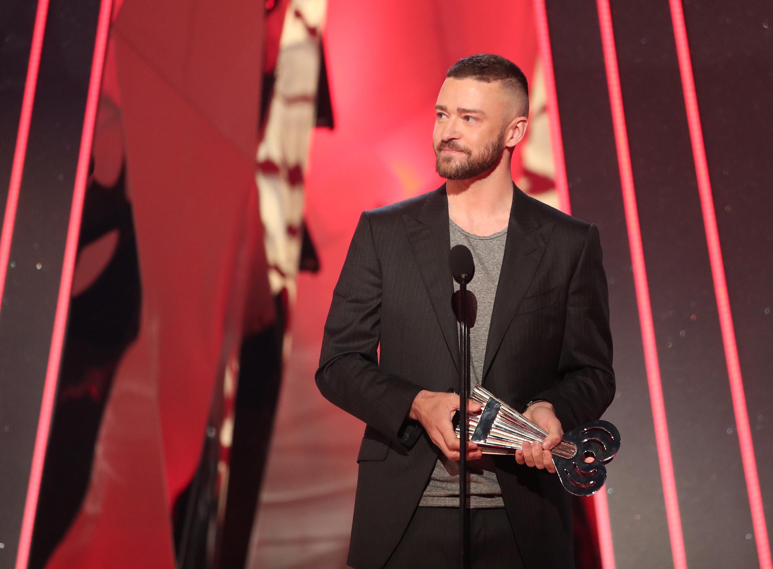 Джастин Тимберлейк на iHeartRadio Music Awards
