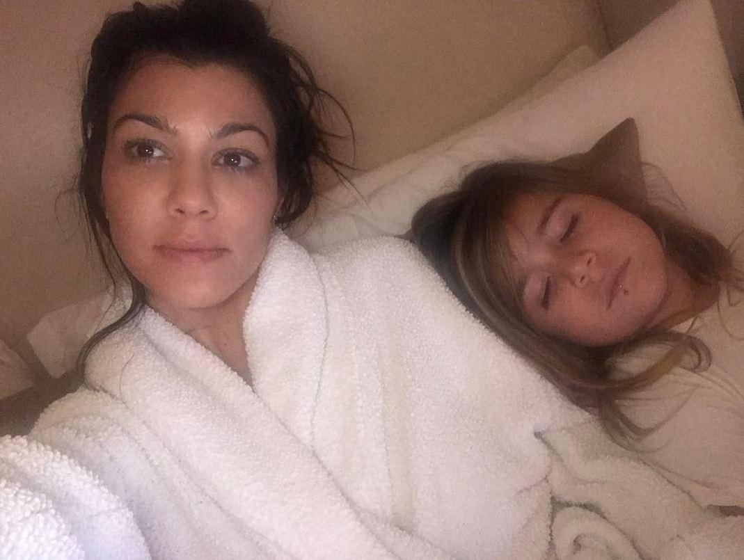 Кортни Кардашьян с дочерью Пенелопой
