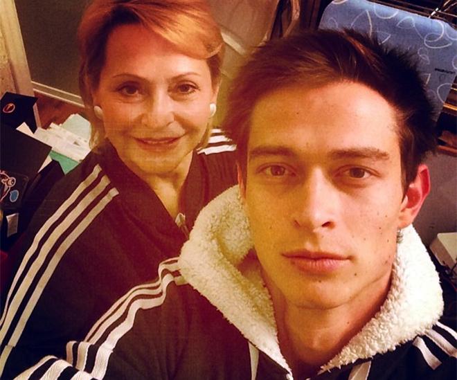 Кравц с мамой