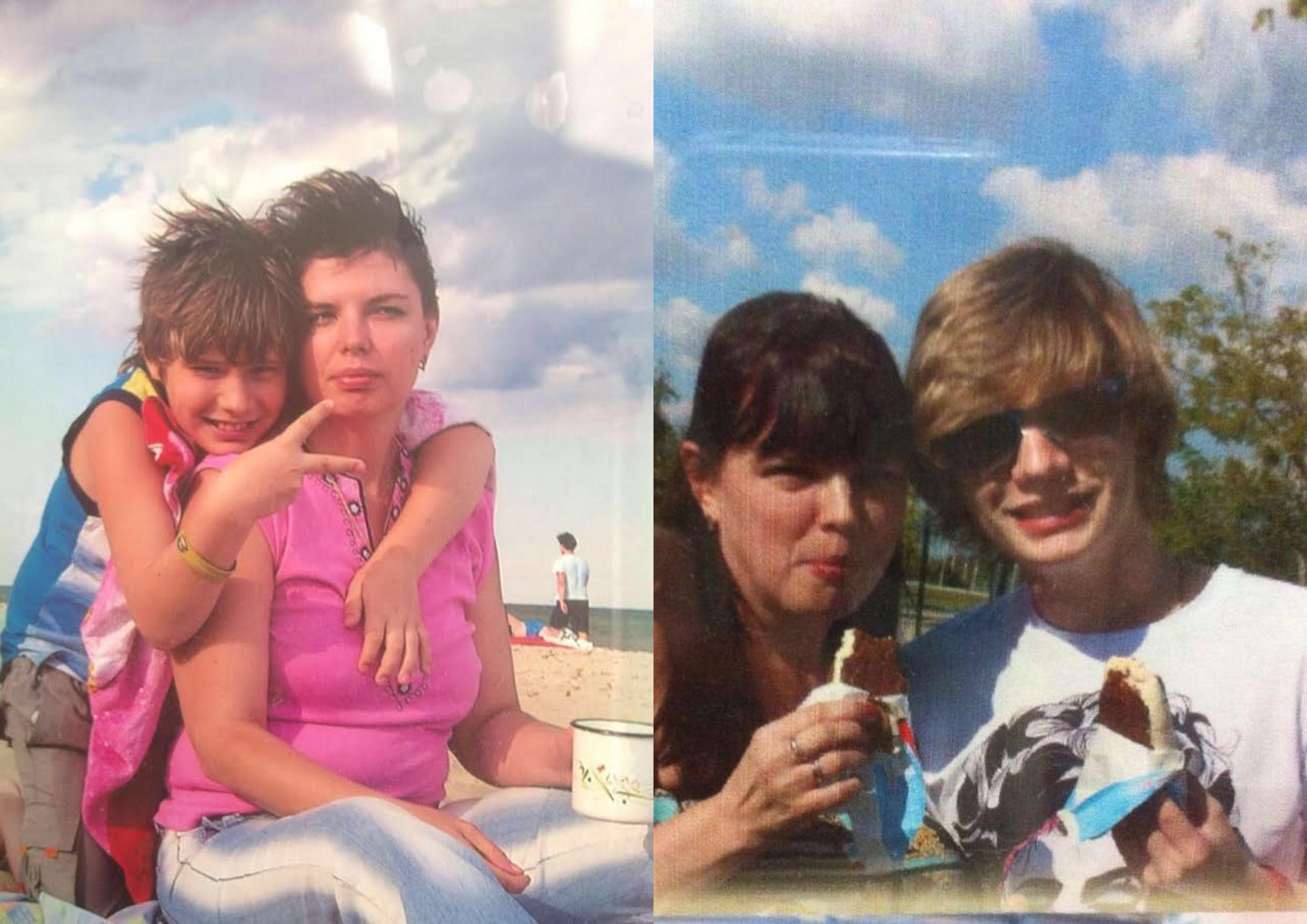 Саша Лавер с мамой