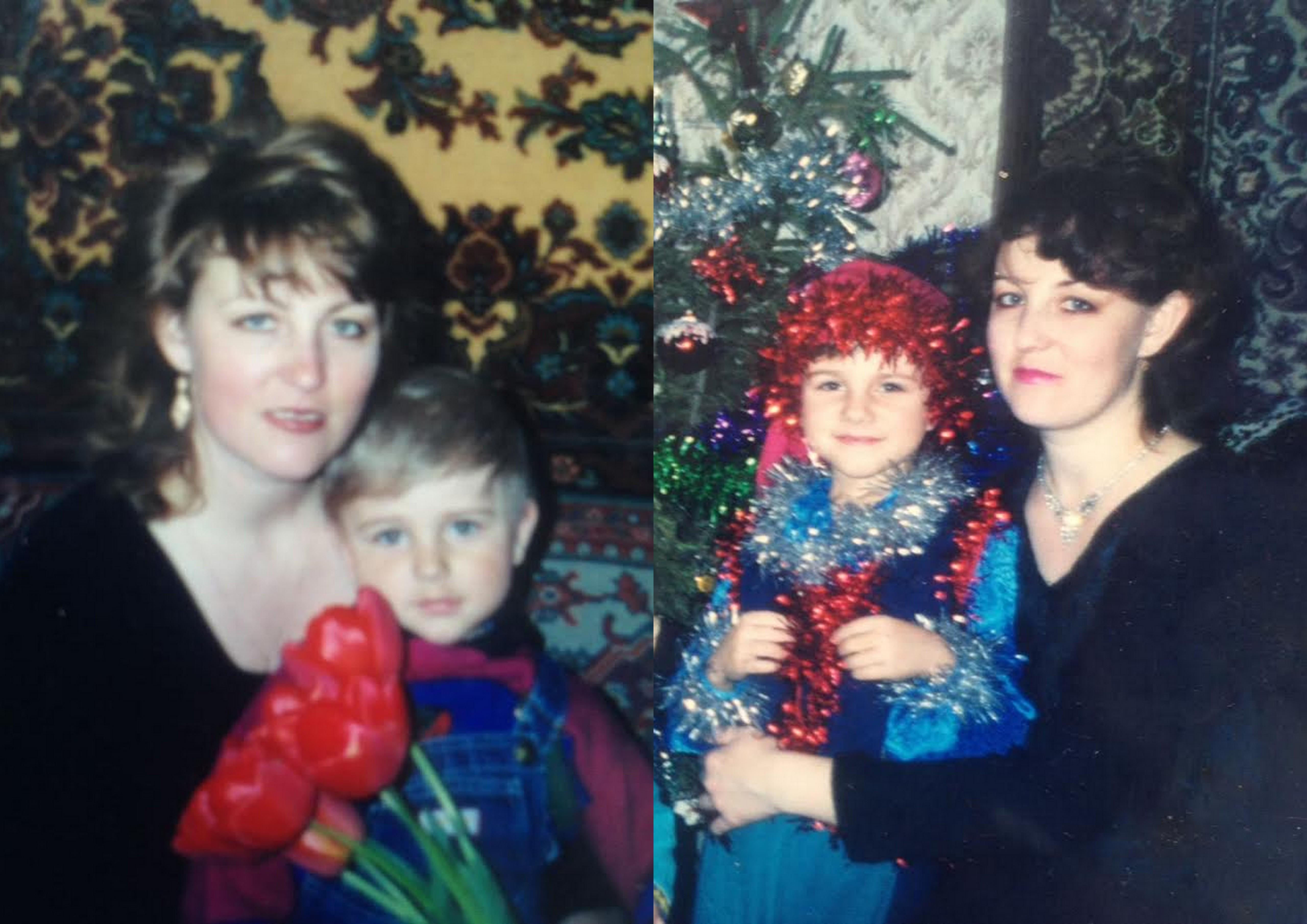 Рома Данилов с мамой