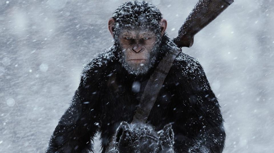 Планета обезьян 2017