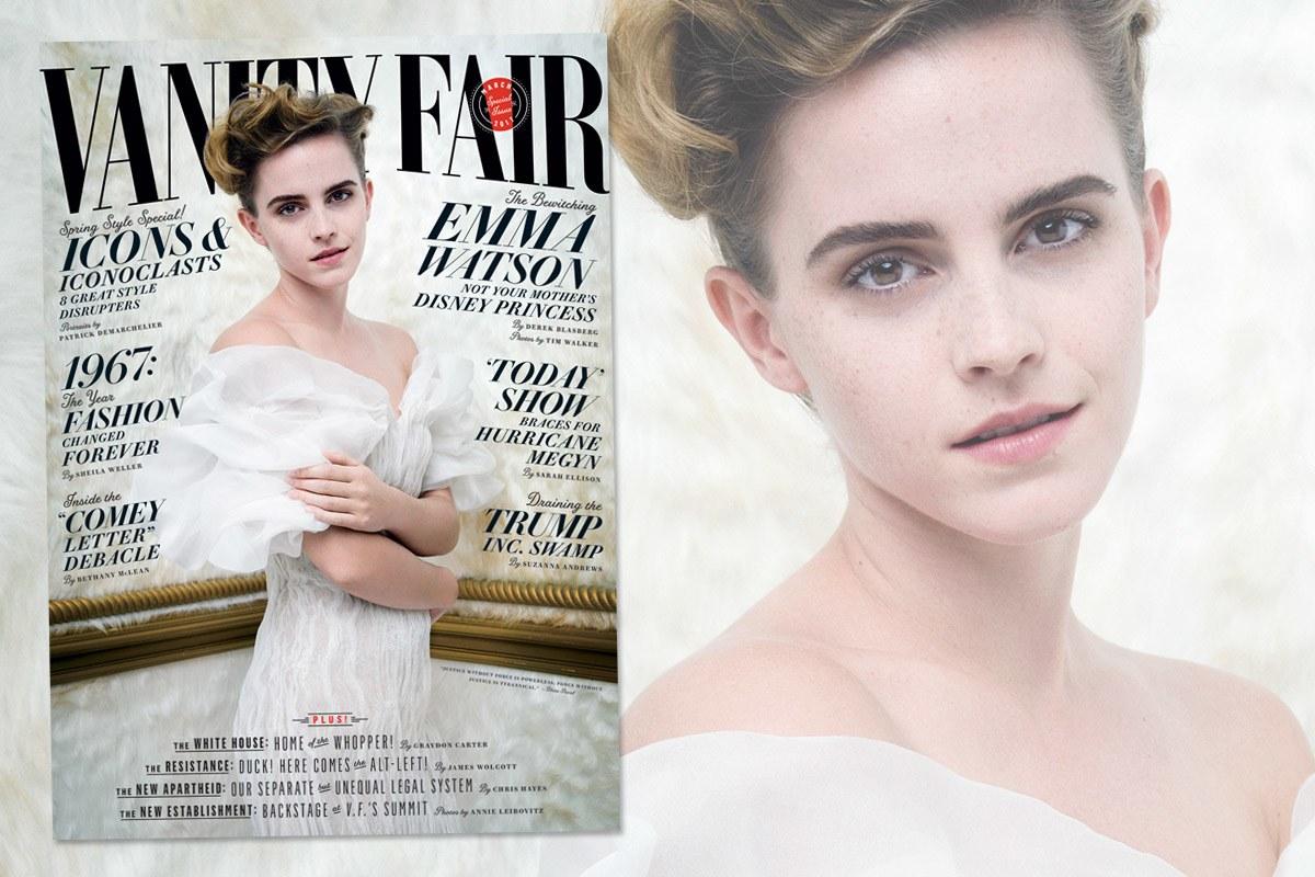 Эмма Уотсон на обложке Vanity Fair