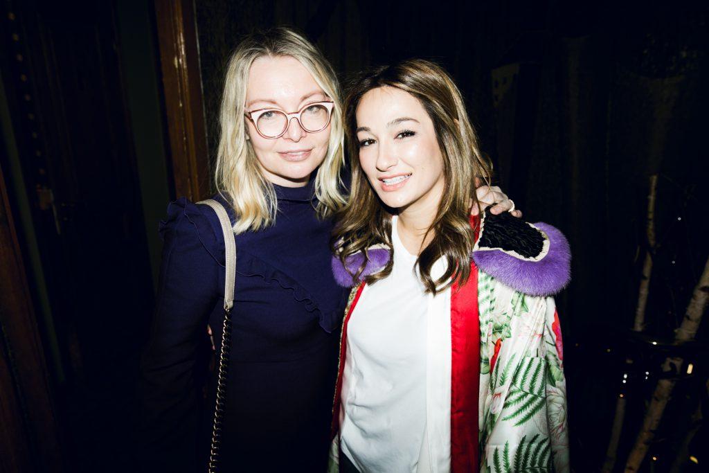 Виктория Давыдова и Айсель Трудел