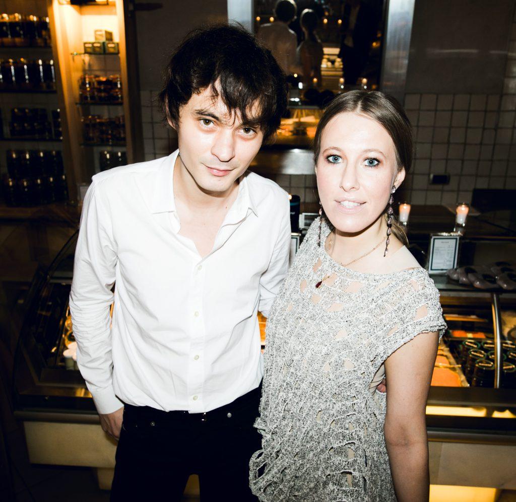 Александр Терехов и Ксения Собчак