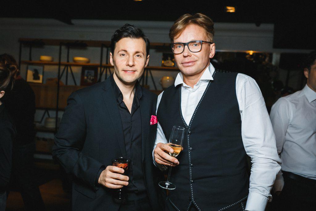 Вячеслав Манучаров и Эдгар Шабанов
